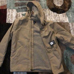 Men's Large O'Neill Canvas Jacket w/ Sherpa Lining